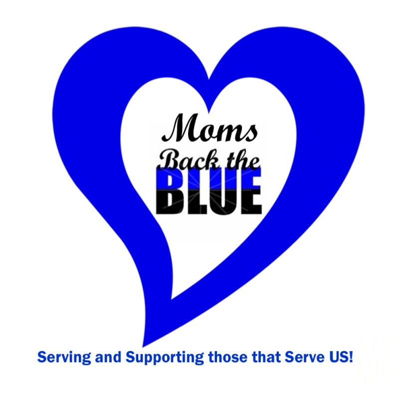 Moms Back in Blue Logo
